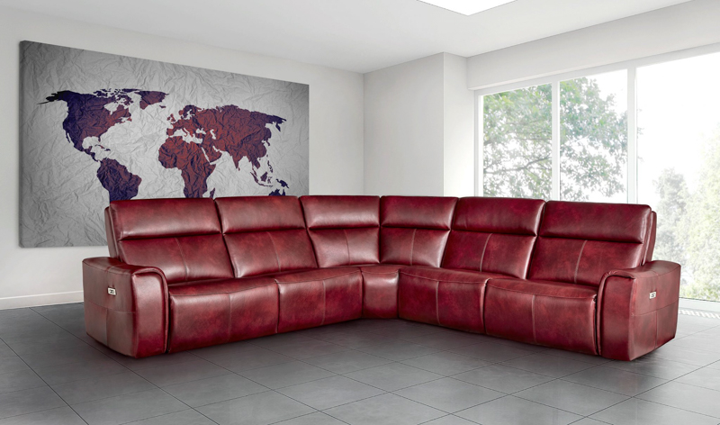 Elran Craig Sectional Room Concepts