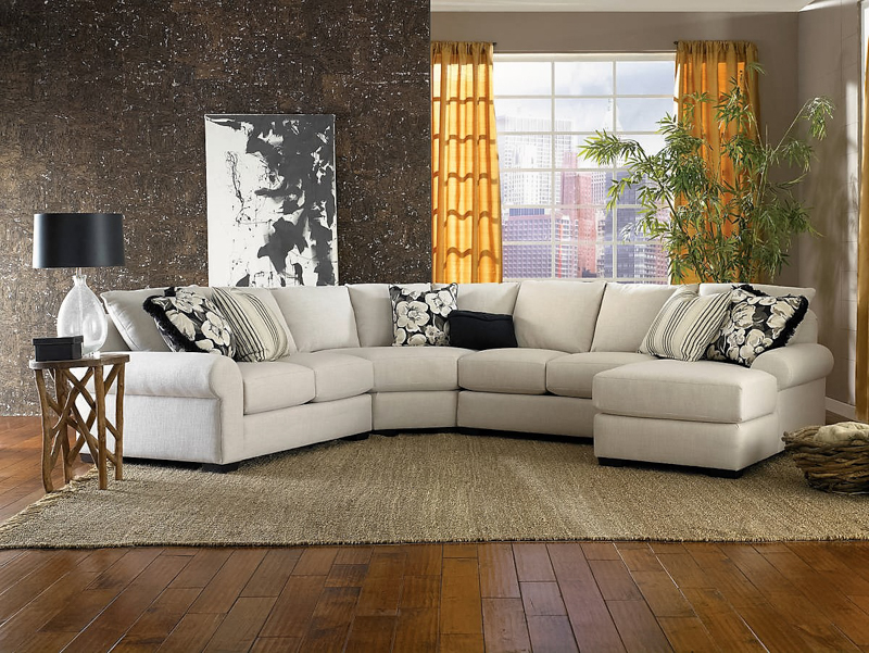 Smith 8000 Series Sectional Room Concepts