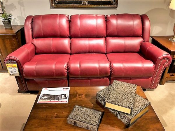 Rolled Arm Reclining Sofa Room Concepts