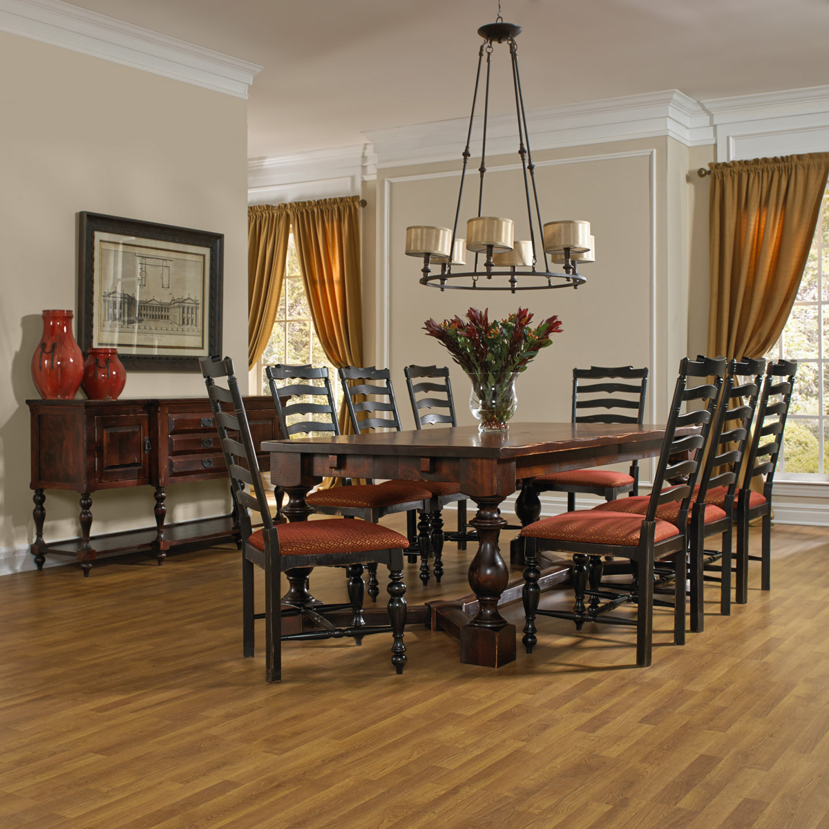 I Like The Concept Of Having The Living Room Dining Room: Canadel Champlain Dining Collection
