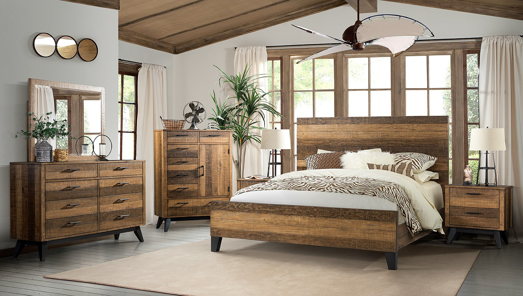 Urban Rustic Bedroom Room Concepts
